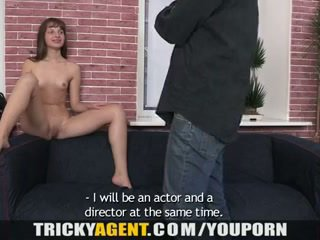 A girl rescued from the rain gets seduced!