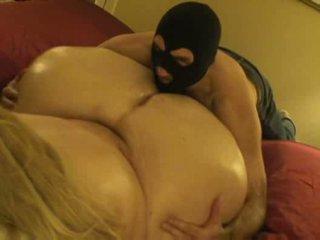 Enormous ass oil rub