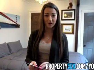 Propertysex - Rocking Body Real Estate Agent Bones Renter