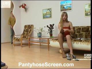 Diana e adrian sporco calze autoreggenti vid