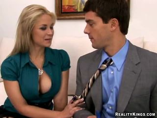 Big Tits Boss Sarah Vandella, Power To...