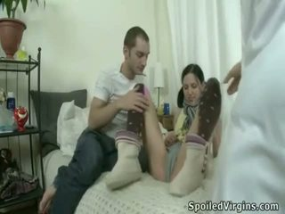 Crazy Defloration Of Innocent Youthful Alice.