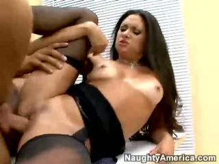 Lusty Stephanie Swift Receives Fucked Hard In The Office