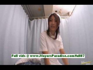 Anna kousakabusty japanese nurse in the hospital