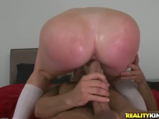 Young student Alexis Ford seduce her coach