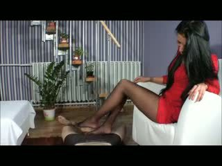 Goddess amy 코키 - bootjob - 신발 작업