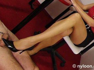 tôn sùng chân, close-up, vớ