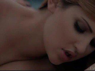 suudlemine, suuline sa, täis girl on girl suur