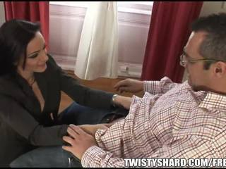 FIT Cocoa Haired MILF Licks And Makes ...