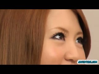 Sakamoto hikari coed posing nakal