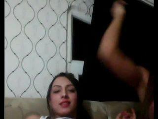 Warga turki tgirls bermain dengan setiap lain pada kamera