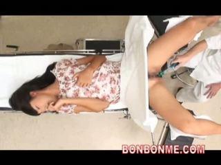 japonez, webcam-, doctor