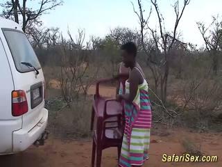 Ýabany afrikaly safari sikiş topar sikiş, mugt ýabany sikiş hd porno 33