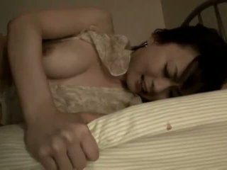Japānieši mammīte warmed augšup par daži hardcore darbība