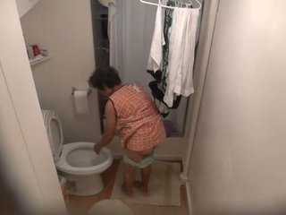 Secret Piss Cam. Caught my grandma and cousin pissing