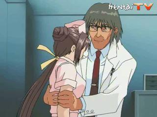 enfermeira, anime pornô