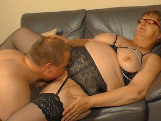 Xxx omas - amatöör saksa granny takes riist ja sperma edasi