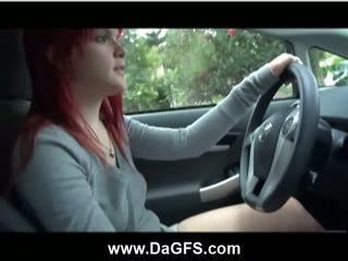 Mariah Mars Gives Herself A Ride