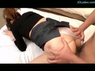 거유 사무실 여자 getting 그녀의 고양이 엿 얼굴의 에 그만큼 침대