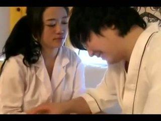 Glorious vip koreaans rondborstig in brothel