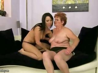 おばあちゃん, レズビアン, ママとこども