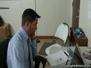 kancelária sex, bez červený dievča porno