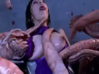 Potwór tentacles jizzing duży gafa orientalne porno attacker wszystko the ciało