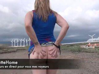 Exhib et masturbation sur la plage une amatrice francaise nue toujours pour les