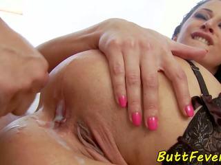 Európai modell assfucked -ban fehérnemű, hd porn b5
