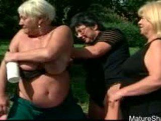 big boobs, granny, lesbian