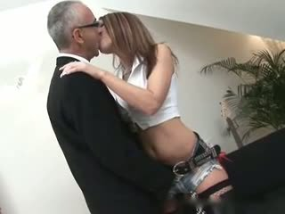 Old Man and Wild Woman Anal, Free Hardcore Porn Video c1