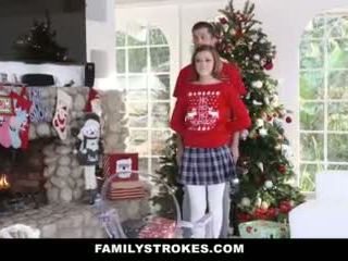 Familystrokes - ficken meine step-sis während holiday weihnachten pics video