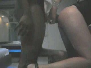 Schwer anal für ein zierlich crossdresser