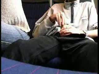 Julkinen juna suihinotto video-