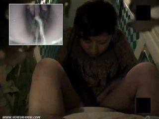 Poraščeni muca stranišče masturbation