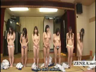 Subtitled група на японки milfs stripping за racing игра