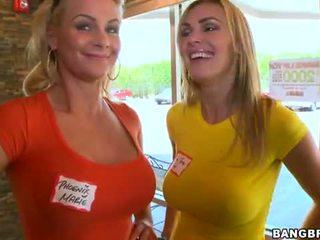 melons, porn actress, head giving