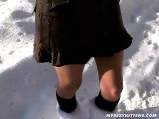 fuck surprize her, girl fuck her hand, eat her feet