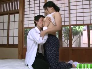Old has some shagging process involving sperma wiping out pleasures