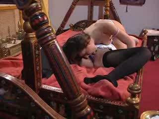 Classy lesbian pussy licking