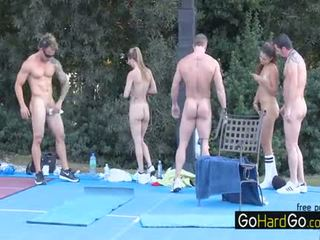 visi grupu sekss jauks, pārbaude big boobs, karstās doggystyle visi