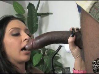 Stephanie kane beib olema võluv darksome meat sisse suu