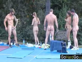 sex în grup toate, evaluat sanii mari, distracție doggystyle evaluat