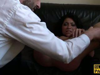 britânico, hd pornô, palmada