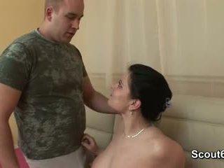 German BBW Teen step-sister get fucked...
