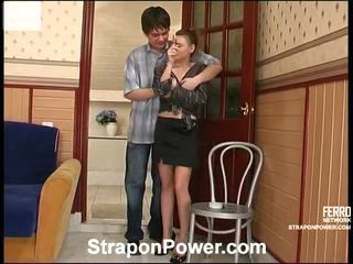 Mainit strapon power video starring susanna, nikola, leila