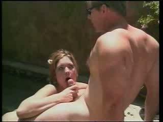 סקסי rachel loves מזיין ב sunny יום