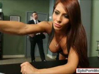 Büro hure madison ivy wichse swallows nach hardcore sex