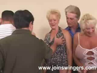 swingers, gjyshe, vjeç
