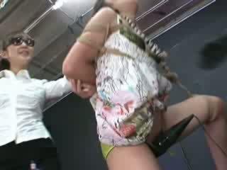 Ayumi gets vázaný a tortured